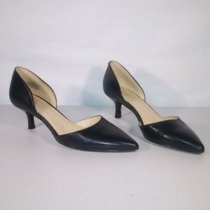 Nine West Shoes - Nine West D'Orsay Heel Pumps Size 6 M Navy Blue